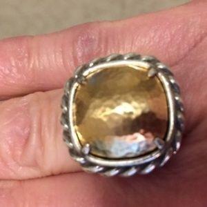 Brighton Joyful Silver & Gold Ring